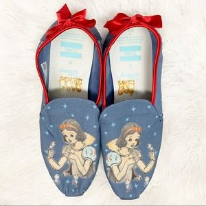 Disney x Toms Collection Snow White Slip On Shoes